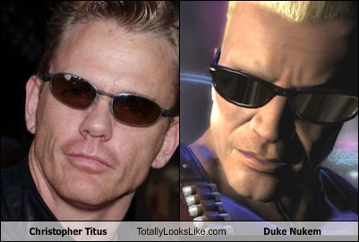 Christopher Titus Totally Looks Like Duke Nukem