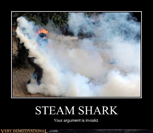argument,invalid,shark,steam,Terrifying,wtf
