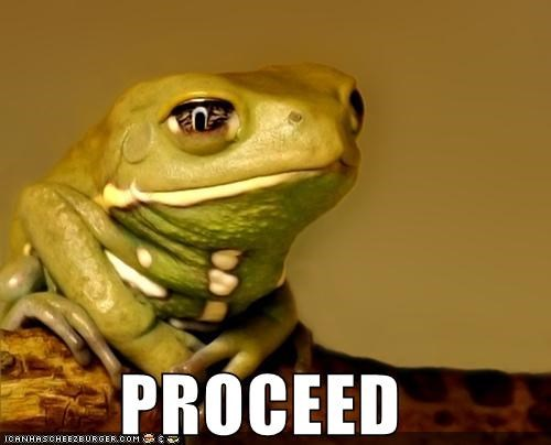 animals,frog,go on,listening,proceed,tell me