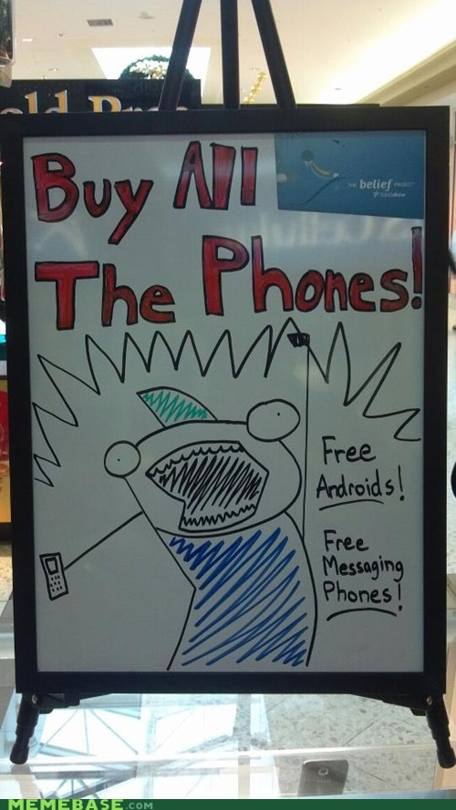 Buy ALL the Phones