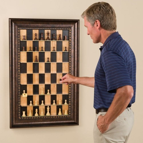 Vertical Chess Set of the Day