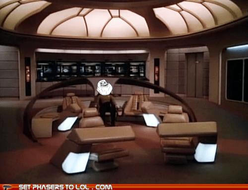brent spiner,bridge,data,droid,enterprise,forever alone,Star Trek
