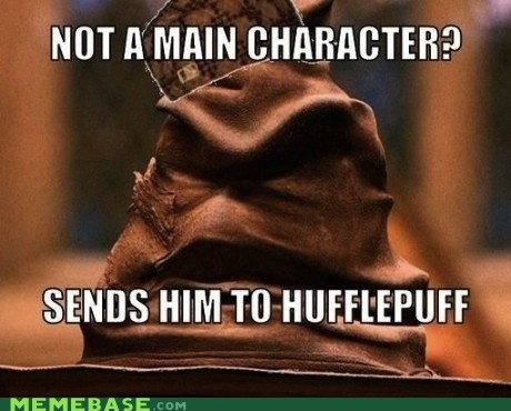 Harry Potter,hufflepuff,movies,ravenclaw,Scumbag Steve