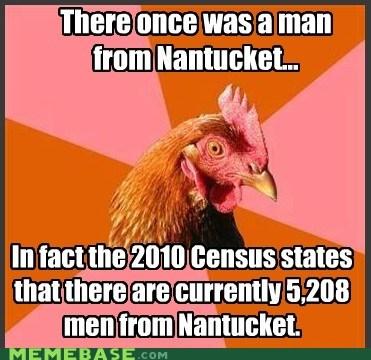 Anti-Joke Chicken: Very Impressive, Nantucket