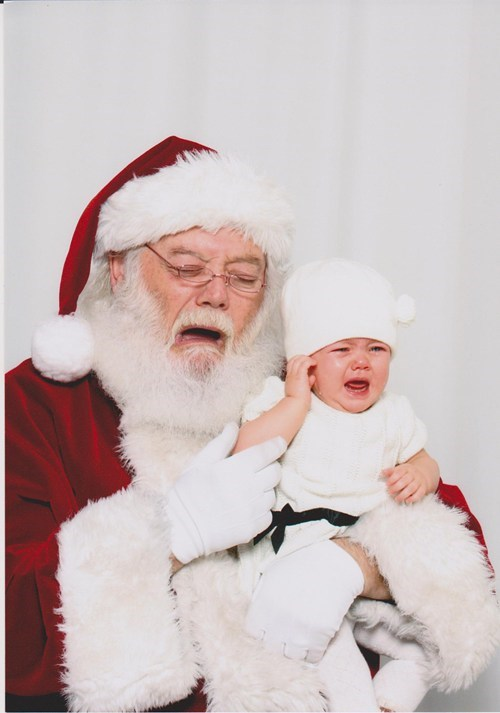 baby,crying,i know that feel,mall,santa,toddler