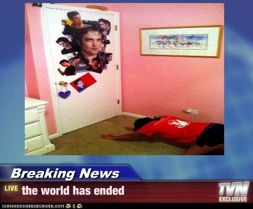 Breaking News - the world has ended