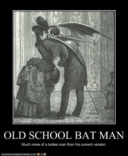 OLD SCHOOL BAT MAN