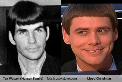 Tex Watson Totally Looks Like Lloyd Christmas