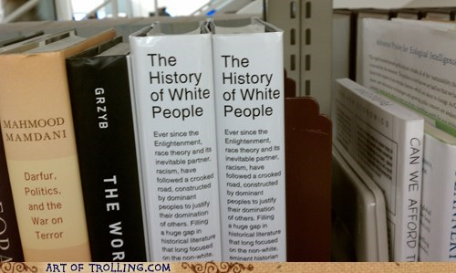 Mighty Slim History, White People