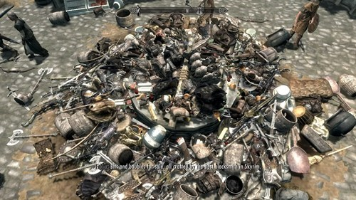 Hoarders: Skyrim Edition of the Day