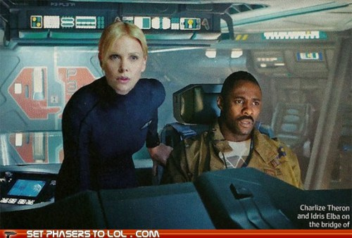 Prometheus Photos Revealed