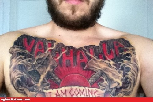 chest,Music,rock and roll,tattoo,van halen