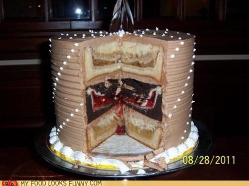 cake,dessert,omg,pastryception,pie,wtf