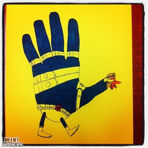 Hand Turkey WIN