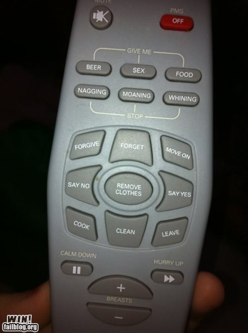 Remote WIN? Or Sexism FAIL?