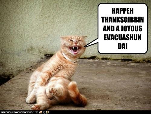 Nov 25 - Evacuation Day