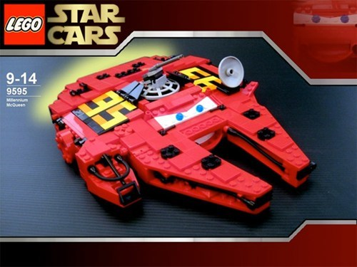 Star Wars Meets Pixar's Cars of the Day