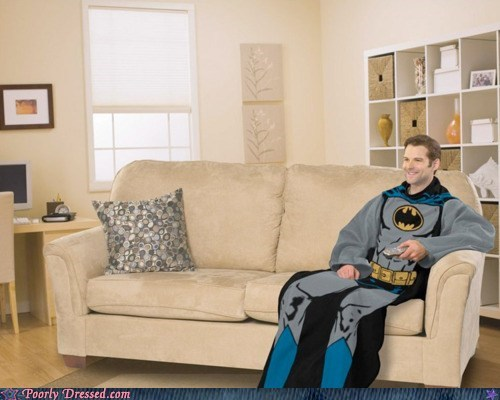 Batman: the Snuggie!