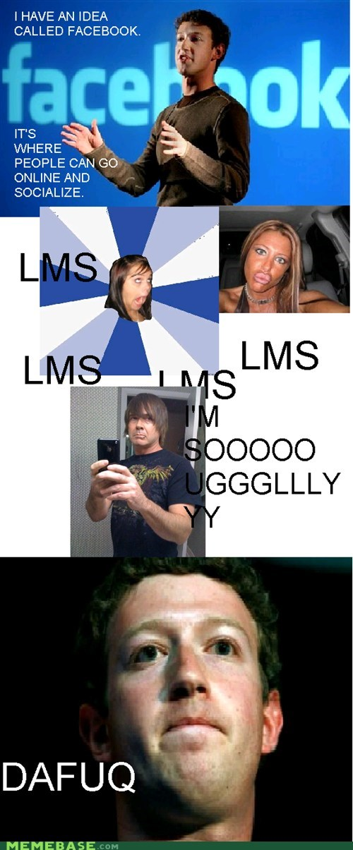 annoying facebook girl,duckface,facebook,ugly,zuckerberg
