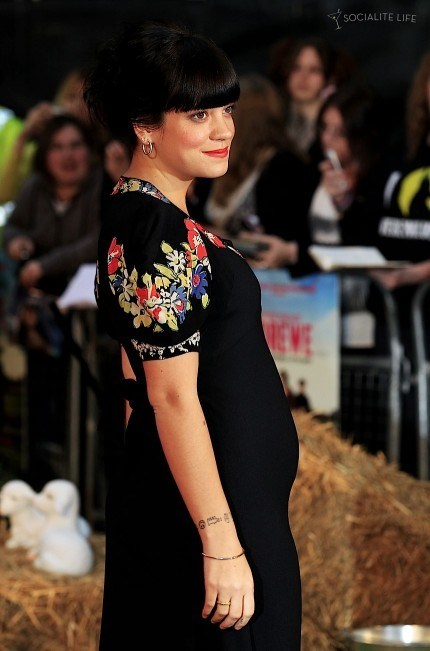 New Baby for Lily Allen of the Day