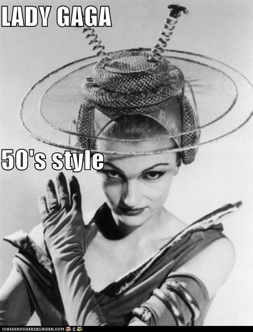 LADY GAGA 50's style