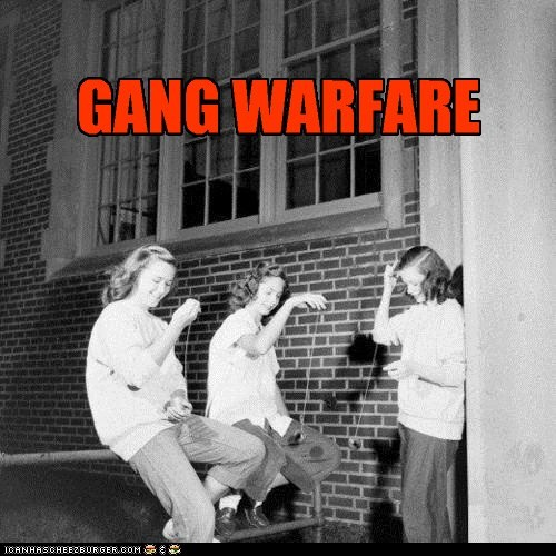 GANG WARFARE