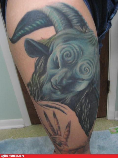 Tattoo WIN: Pan's Labyrinth, the Tattoo