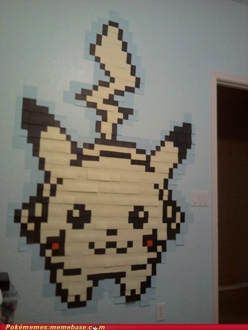Post-it Pikachu