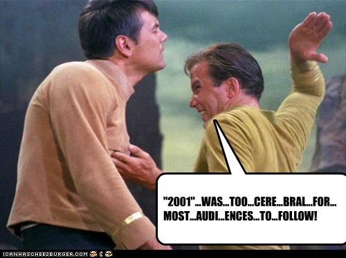 Shatner Vs. Kubrik