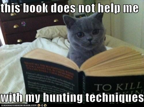 this book does not help me   with my hunting techniques