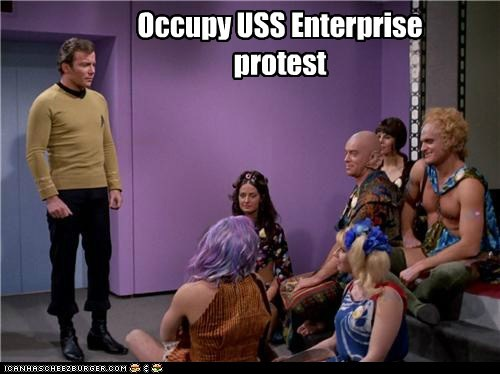 Set phasers to pepper spray
