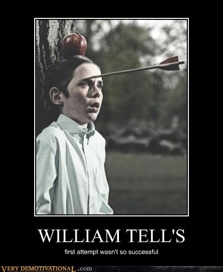 accurate,arrow,hilarious,practice,successful,william tell