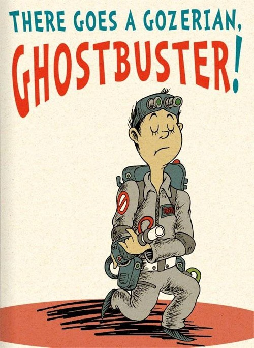 Dr. Seuss's Ghostbusters of the Day