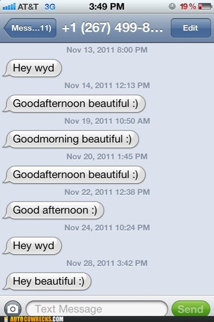 Good Morning, Desperate-and-Persistent :/