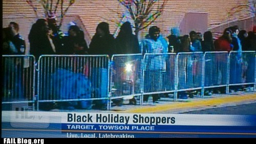 black friday,Probably bad News,thats-racist