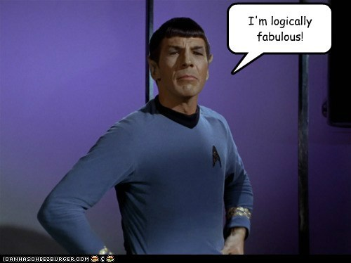 Self Satisfied Spock