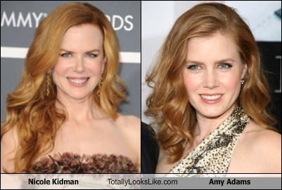 Nicole Kidman Totally Looks Like Amy Adams