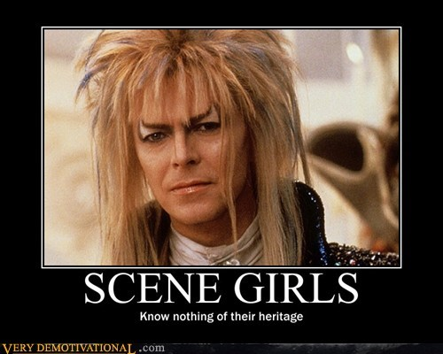 david bowie,girls,hilarious,labyrinth,scene