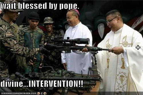 wait blessed by pope. + divine...INTERVENTION!!