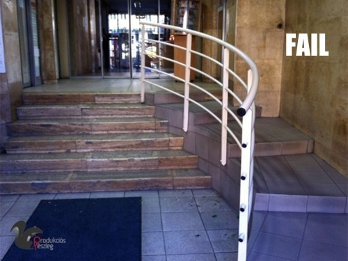 Ramping Up Your Handicapped Access FAIL