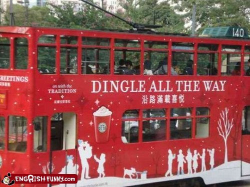 Dingle Bells, Dingle Bells, Dingle All the Way