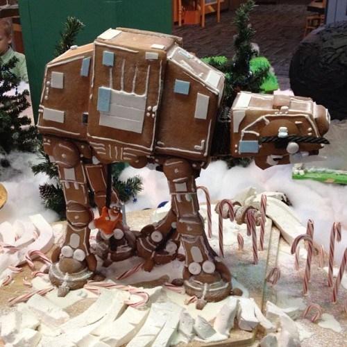 at at,design,gingerbread,holiday,nerdgasm,noms,star wars