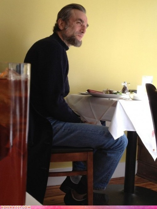 First Look: Daniel Day-Lewis Sporting a Lincoln Beard