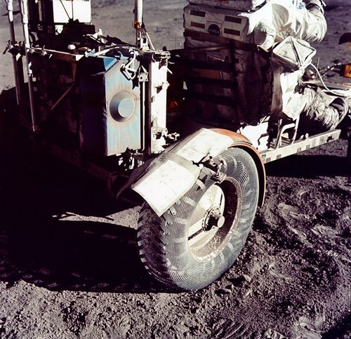 Who Knew You Need Mud Flaps On The Moon?