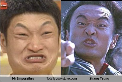 Mr. Impossibru Totally Looks Like Shang Tsung