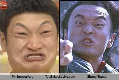 Mr. Impossibru Totally Looks Like Shang Tsung