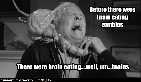 Before there were brain eating zombies