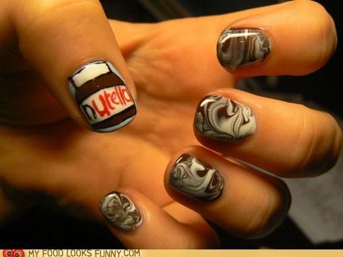 devotion,fingernails,manicure,nutella,polish