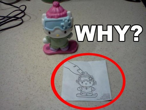 McDonalds Happy Meal Toy Fail!