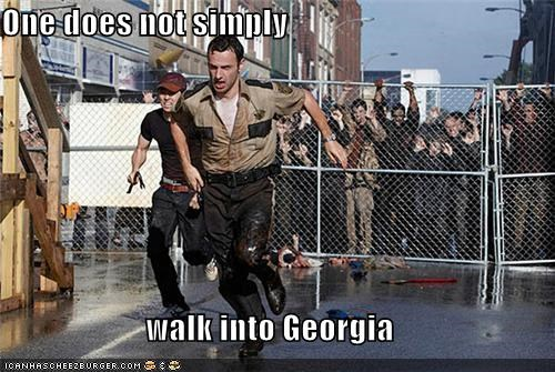 One does not simply  walk into Georgia